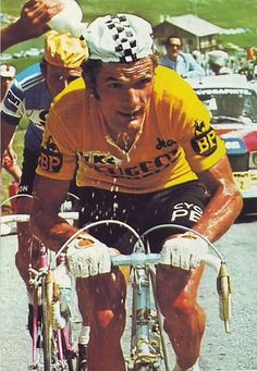 Tour de France 1975. Bernard Thévenet (1948) e Joop Zoetemelk (1946)