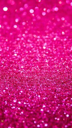 Bright Pink Glitter