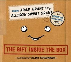 Booktopia has The Gift Inside the Box by Adam Grant. Buy a discounted Hardcover of The Gift Inside the Box online from Australia's leading online bookstore. Free Books, Good Books, Adam Grant, Give And Take, Kids Library, Library Books, Inside The Box, Book Categories, Book Signing
