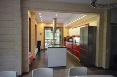 Современная кухня в интерьере загородного дома - ALNO. Современные кухни: дизайн и эргономика   PINWIN - конкурсы для архитекторов, дизайнеров, декораторов