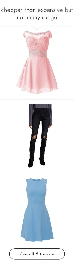 """""""cheaper than expensive but not in my range"""" by laurens-turtles-x ❤ liked on Polyvore featuring dresses, short dresses, jeans, washed black, distressed skinny jeans, ripped denim skinny jeans, super high rise skinny jeans, ripped skinny jeans, destroyed skinny jeans and vestidos"""