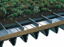 Kalzip metal standing seam roof and wall cladding systems - Products - Kalzip solar and green roof systems - Nature roof