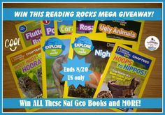 National Geographic Prize Pack Giveaway