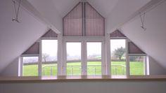 tolle ideen wie sie ihr dreiecksfenster verdunkeln interieur deko f r spezielle fenster. Black Bedroom Furniture Sets. Home Design Ideas