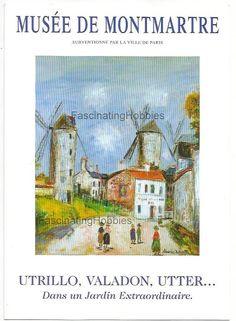Paris 1996  UTRILLO VALADON....  Leaflet by FascinatingHobbies
