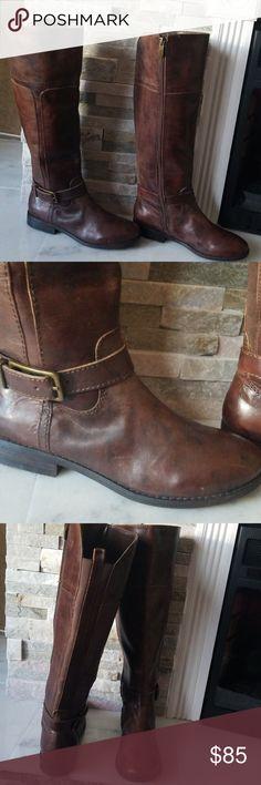 327aa668e0f NWOT MARC FISHER WOMEN boots size 6M MARC FISHER AYSHA women boots size 6M  color brown