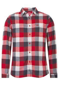 Camisa  Quiksilver Impett Xadrez - Compre Agora    DafitiSports R 219.00   Tshirt   3a0a77bce5