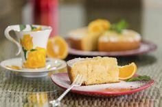 torta de naranja y yogur