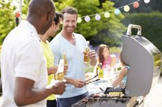 Healthy Men Group Of Men Cooking On Barbeque At Home by monkeybusiness. Group Of Men Cooking On Barbeque At Home Healthy Man, Healthy Summer, How To Stay Healthy, Clean Eating Plans, Summer Barbecue, Healthy Eating Recipes, Home Photo, Grilling Recipes, Recipes