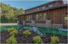 ranchwood™ Rustic alternative for Reclaimed Barnwood, Prefinished Board and Batten / Shiplap Wood Siding for Mountain Barn-Bozeman Montana