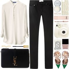 But baby, anywhere is away from me by steffywhoelse on Polyvore featuring polyvore fashion style Acne Studios Valentino Yves Saint Laurent Elizabeth and James ASOS Jack Wills Butter London Chloé Diptyque Montegrappa Polaroid YSL valentino