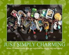 Ruth Rae charm exchange - 24 artists & how they made their charms