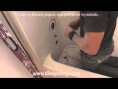▶ How to remove tub, fiberglass shower enclosure demo, tear-out - YouTube