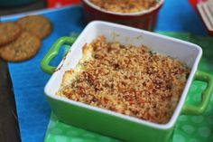 Jalapeno Popper Dip with Bacon Breadcrumbs | the wicked noodle
