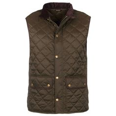 Tantallon Quilted Gilet in Olive by Barbour #$200+ #Barbour #Barbour-Mens