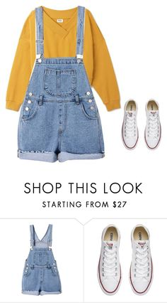 """""""Untitled #413"""" by morgan-sullivan ❤ liked on Polyvore featuring Converse"""