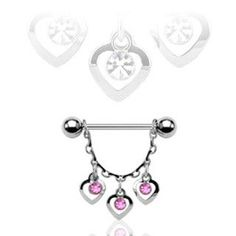 Sold Individually Glistening Lock and Key 316L Surgical Steel Freedom Fashion Belly Button Ring