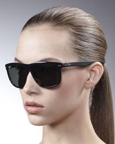 8c8f753a284 Ray-ban Oversize Wayfarer Sunglasses in Black (havana polarized)