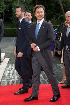 Prince Journalist Stephane Bern attends the Royal wedding of Prince Leka II Albania and Elia Zaharia in Tirana, Albania on October 8, 2016 ...