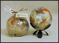 Fragrance Sphere- White Copper