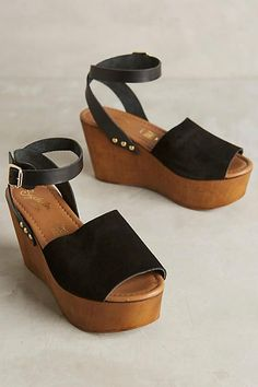 Seychelles Forward Platform Wedges - anthropologie.com