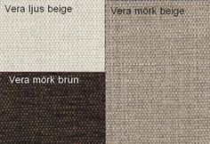 Vera Ljus Beige / Vera Mörk Beige / Vera Mörk Brun Från Hovden Vera Lighr Beige / Vera Dark Beige / Vera Dark Brown From Hovden