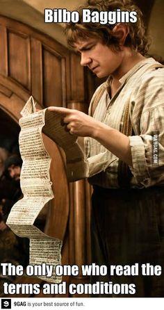 Good guy Bilbo