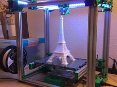Remix of the Core-XY C-Bot.  300mm x 200mm x 325mm print volume $550 approximate cost Read the build guide before ordering…