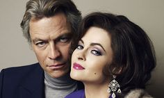 Dominic West and Helena Bonham Carter looking very convincingly like Richard Burton and Elizabeth Taylor