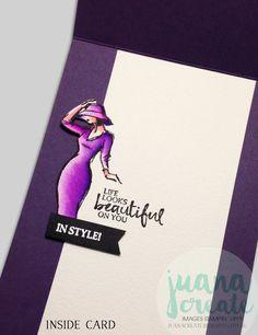 Beautiful You - Celebrate in Style! #BeautifulYou, #Handmadecards, #Encourgement, #Stampinup, #Juanacreate
