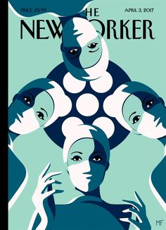 "The New Yorker - Monday, April 3, 2017 - Issue # 4681 - Vol. 93 - N° 7 - « Health, Medicine & The Body » - Cover ""The Operating Theatre"" by Malika Favre"
