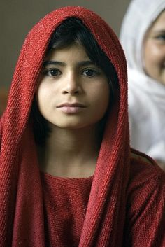 Young Girl in Kapisa Province Afghanistan
