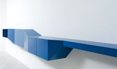 Captivating Modular Shelving Units Design: Attractive Contemporary Blue Modular Shelving Units With Simple Design And White Wall Paint Colors ~ iamsaul.com Furniture Inspiration