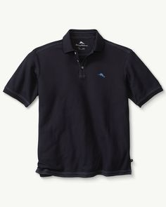 9f7ee6f8 The Emfielder Polo. Size L Vacation Wear, Tommy Bahama, Cotton Fabric, Polo