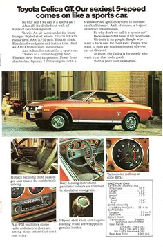 1976 Toyota Celica...oh the stories she could tell...