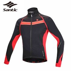 59.85$  Buy here - http://alivlb.worldwells.pw/go.php?t=32789452299 - Santic Autumn Winter Cycling Jersey Remavable Long Sleeve Cycling Jacket/Cycling Vest Fleece Thermal Bike Jersey Bicycle Clothes
