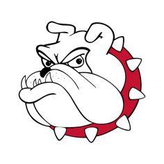 42 best bulldog clip art images on pinterest in 2018 bulldog rh pinterest com Georgia Bulldog Images Clip Art Free Bulldog Paw Print Clip Art