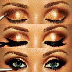 Sunset eye makeup trends