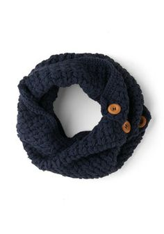 Stage Door Circle Scarf in Indigo, #ModCloth