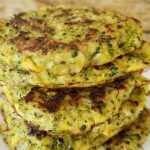 delicious broccoli cauliflower fritters