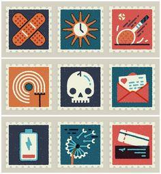 visualgraphc:  Everyday Stamps MUTI
