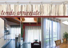 tende per una casa in bianco | vestire la casa di leggerezza
