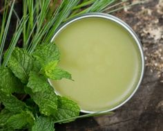 This salve contains mint to cool inflammation and pine for its mild pain-relieving properties.Tamanu oil is a wonderful addition to pain-relief salves, but if you don't have any, just use more infused oil instead. While the mint infused oil mayhave a light scent of its own, peppermint essential oil adds a deeper cooling sensation that really helps make this salve more effective. Massage the salve onto your temples, forehead, back of neck and