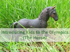 In honor of Olympics 2012,take time to learn about the history of horses in the olympics and the horse's body using Montessori three part cards.