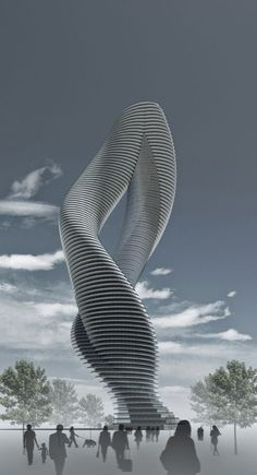 Twisted Tower by dardan metushi #architecture ☮k☮