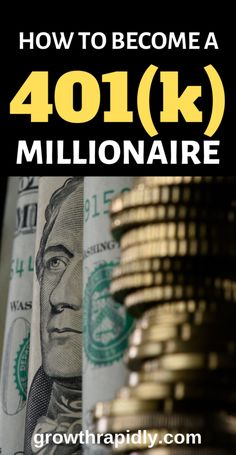 Looking to build wealth? Becoming a millionaire may not be as hard as you think…. – Finance tips, saving money, budgeting planner Best Money Saving Tips, Ways To Save Money, Money Tips, Saving Money, Cash Money, How To Get Rich, How To Become, 401k Plan, One Million Dollars