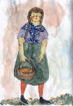 From my (Phoebe Wahl) sketchbook, spring 2012