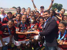Brother, enquanto isso, aqui no Rio... Deu nós, sem caô! Parabéns pelo bi estadual, meninas! #MengaoMeu