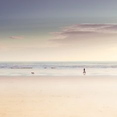 Pastel beach
