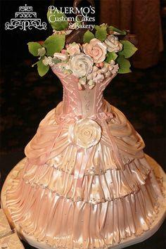 Dress cake awesome
